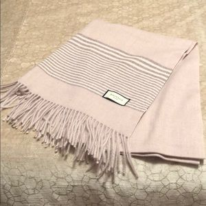 Gorgeous soft pink full size scarf. NWOT.